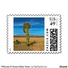 """""""Welcome To Green Valley"""" Stamps"""
