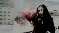 Captain America: Civil War. Scarlet Witch.