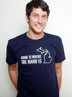 Do you use your hand to show people where you are from? #Michigan #PureMichigan