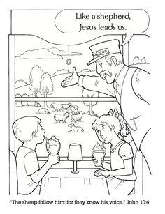 VBS Coloring Book - Jesus is our Shepherd