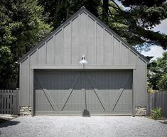 For those of you who are automotive lovers, it is certainly not far from the term garage as your home design choice. After the article before we discussed the garage floor. For this article, I will discuss the garage door… Continue Reading → Grey Garage Doors, Best Garage Doors, Garage Door Styles, Garage Door Design, Garage Shed, Barn Garage, Detached Garage, Garage Room, Garage Exterior