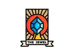 The Jewel by Arturo MB #Design Popular #Dribbble #shots