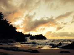 Turtle Bay beach, Oahu, Hawaii