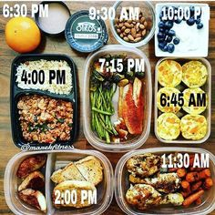 What's your day look like? Prepping definitely makes it easy to stay on track towards your body goals and saves you the time spent figured out what to eat! - ALL-IN-ONE TOOL & GUIDES -  Build Custom Plans & Set Nutrition Goals  BMR BMI & Max Rate Calculator  Learn Your Macros by Body Type & Goal  Grocery Lists Automated to Weekly Needs  Accurate Cooking and Prep Summaries  Combine & Export Data for Two Plans  Track Your Progress & Daily Allowance  Food Lists for Clean Eating  Database of…