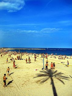 Will be on this Barcelona beach in a few days!