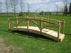 Backyard Bridges | Garden bridges, pond bridges, wooden bridges