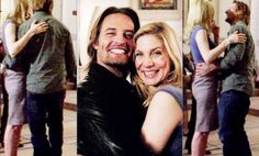 Look at how happy they are!!! Cutest couple Sawyer and Juliet