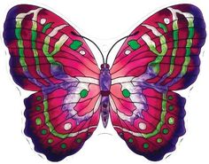 Joan Baker Designs TPF1007 8W by 6H Magenta/Green Butterfly Garden Tile Plaque by Joan Baker Designs. $8.31. Indoor or outdoor use. Hand-painted. Perfect garden accessory. Pre-drilled hole fits bronzed garden stake sold separately. Butterflies are nature's mini masterpieces; Our hand-painted tile garden plaques show them off in all their glorious variety of patterns and colors; For more than 40 years, Joan Baker Designs' talented artisans have created stunning decora... Garden Tiles, Garden Plaques, Garden Sculptures, Green Butterfly, Garden Accessories, 40 Years, Statues, Outdoor Gardens, Art Decor
