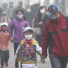 China air pollution reaches almost 50 times World Health Organisation-recommended level