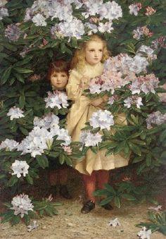 James Hayllar, (1829–1920): El escondite