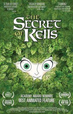 The Secret of Kells Animated Movie Poster 11x17 – BananaRoad