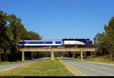 RailPictures.Net Photo: RNCX 1810 North Carolina Department of Transportation EMD F59PH at Efland, North Carolina by Trey Belton
