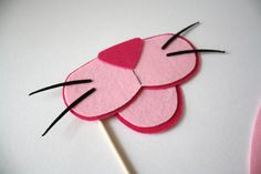 Party Props. Wedding Photo Props. Mustache. Photo Props. Photo booth Props. Props on a Stick - The Hot Pink Panther Maro Kit. $11.95 USD, via Etsy.