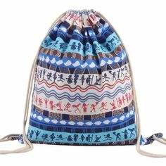 a866012ce3105 23 Best Bag images | Backpacks, Drawstring backpack, Drawstring ...