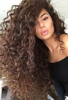 You might have heard the old expression about your hair being the crowning glory of your appearance. Either way, if you are looking for tips on how to style wavy hair, it is because yo… Love Hair, Great Hair, Gorgeous Hair, Long Curly Hair, Big Hair, Curly Hair Styles, Short Wavy, Deep Curly, Curly Girl