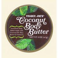 Trader Joe's Coconut Body Butter is an average moisturizer.