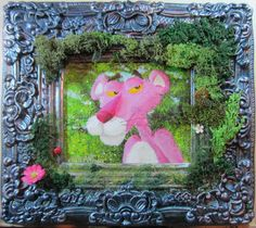 Think Pink!, 2015 by wickedspaceant on DeviantArt Paintings, Deviantart, Canvas, Frame, Pink, Home Decor, Tela, Picture Frame, Painting Art
