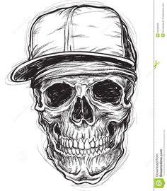 sketchy-skull-cap-bandana-35108439.jpg (1135×1300)