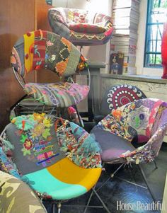 These can be recreated so easily...must start checking toss piles for these chairs!!