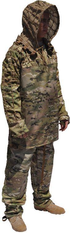 MAMBA Suit, MultiCam (ghillie suit foundation)