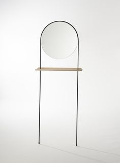Long Leg Mirror - Round By Jasper Eales