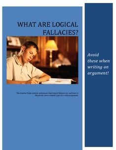 list of logical fallacies and examples pdf