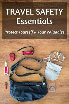 Hope for the best, prepare for the worst by protecting yourself and your valuables with these travel safety products.