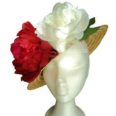 Y como las flores son tendencia..... Modelo CANOTIER PRIMAVERA. Se podria personalizar acorde a los colores del modelo.