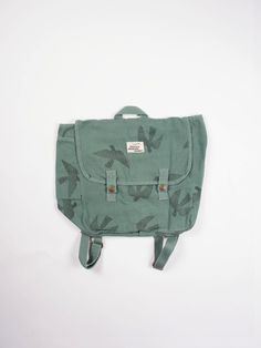 Bobo Choses Schoolbag Bird Green