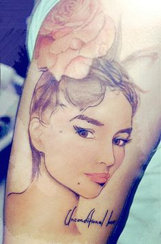 it takes skill to make make tattoo ink look like an actual watercolor painting.