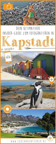 Dein ultimativer Insider-Guide zum Fotografieren in Kapstadt!Here is your ultimate insider guide to taking pictures in Cape Town with all the links to the best spots! Because ingenious photos from the Mother City should not be missing on any trip to Honeymoon Night, All Inclusive Honeymoon, Honeymoon Cruise, Honeymoon Ideas, London Travel Guide, Camping Photography, Camping With Kids, Wanderlust Travel, Taking Pictures