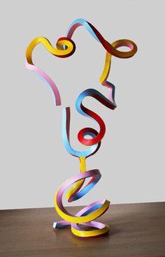 """Saatchi Online Artist Frans Muhren; Sculpture, """"Streamerhead"""" #art"""