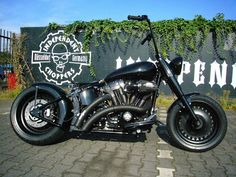 INDEPENDENT CHOPPERS: Dietmars Fatboy Umbau ready