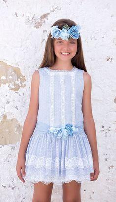 Tienda Moda Mascotas infantil y juvenil Cute Girl Dresses, Little Girl Dresses, Casual Dresses, Flower Girl Dresses, Kids Outfits, Cute Outfits, Zara, Just Girl Things, Spring Dresses