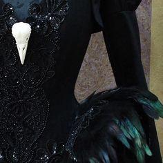 Black Swan Haute Goth Corset Dress ~ Gothic Feathers Raven Skull Witch Costume ~ Vampire Wedding Ball Masquerade ~ Halloween Outfit Corsetry #corset #feathers #skull #birdskull #beaded #fashion #alicecorsets #alternativefashion #overbustcorset #corsetmaking #corsetry #корсет #корсеты #hautegothic #hautegoth #gothic #costumedesign #darkbeauty #gothicoutfit #blackfeathers #wavegothictreffen #blackswan #darkfashion #bespokecorsetry #gothfashion #costuming #tightcorset #мастерская
