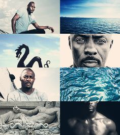 Greek Mythology Dreamcast - Idris Elba as Oceanus Okeanos I call, whose nature ever flows, from whom at first both Gods and men arose. (x)