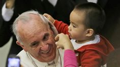Pape François - Pope Francis - Papa Francesco - Papa Francisco - rencontre des enfants du dispensaire pédiatrique du Vatican 14 nov 2013