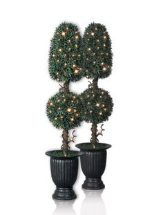 Artificial Potted Christmas Trees Topiaries Balsam Hill