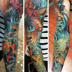 #tattoos amazing colours