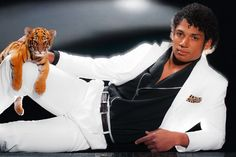 Josh Freeman, the Buccaneers QB, Thrills as Michael Jackson! Read more at Girls Love the Game. One thing is certain, we need a BABY TIGER…RIGHT MEOW!!!!    #NFL #ESPN #Football #News #MichaelJackson #Thriller #Women