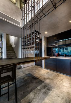 Cage apartment by PRODUCE