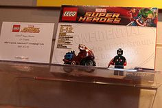 LEGO Marvel Super Heroes - 6865 Captain America's Avenging Cycle - 1  72 pieces $12.99 USD $15.99 CAD Available in May Captain Marvel, Captain America, Space Captain, Lego Marvel Super Heroes, Lego Sets, Superhero, Toys, Christmas, Activity Toys