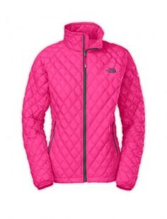 Girls Discount North Face Pink Thermoball Jackets $79