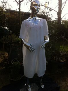A personal favourite from my Etsy shop https://www.etsy.com/uk/listing/288402001/1970s-pale-pink-cotton-nightie-with