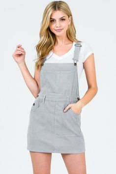 b2f2e12a992b 7 Great Dungaree skirt images