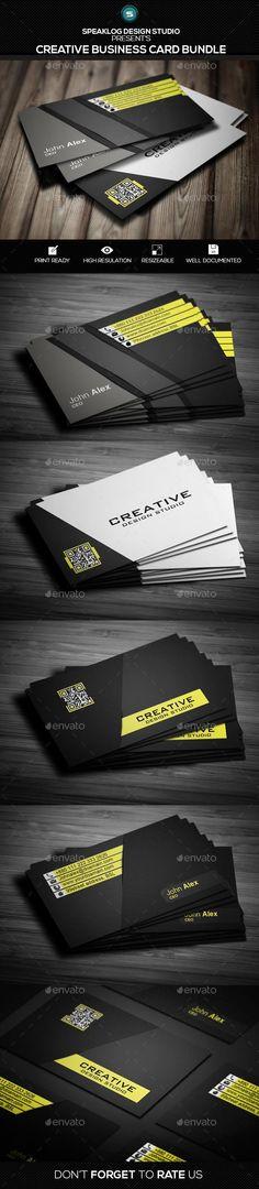Creative Design Business Card # Bundle  #template #creative #business