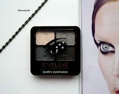 Eveline cosmetics. Quattro eyeshadow #03 \ Тени для век