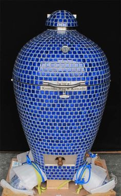 Komodo Kamado Grill/Smoker. The most beautiful grill/smoker on the plant. I'd love to be able to give to hubby.