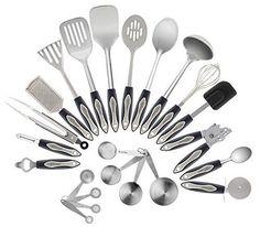 amazon: farberware classic 17-piece tool and gadget set: kitchen
