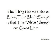 Black <b>sheep | Quotes</b> and Such | Pinterest